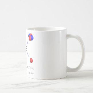 Deuterium-Tritium fusion with equation Classic White Coffee Mug