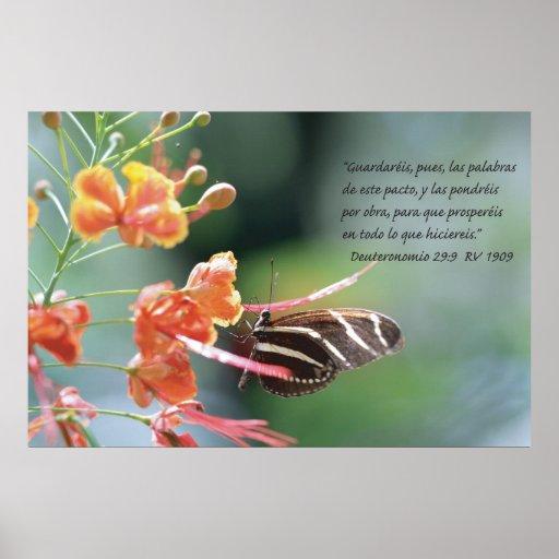 Deuteronomio 29:9 Cartel Poster