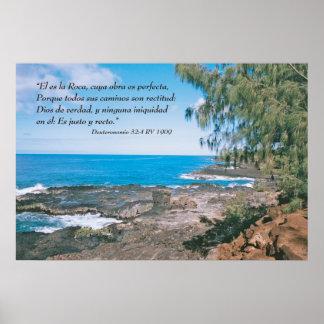 Deuteronomio 32:4 Cartel Poster