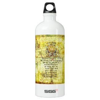 Deuteronomy 31:6 Uplifting Bible Verse SIGG Traveler 1.0L Water Bottle