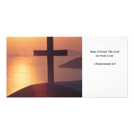 DEUTERONOMY 6:4 PHOTO CARDS
