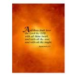 Deuteronomy 6:5 postcard