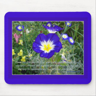 Deuteronomy 7:9 The Lord Your God is God Mouse Pad