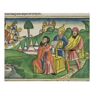 Deuteronomy: Frontispiece en el cual dios hace el  Impresiones