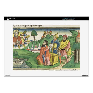 Deuteronomy: Frontispiece in which God makes the L Laptop Skin