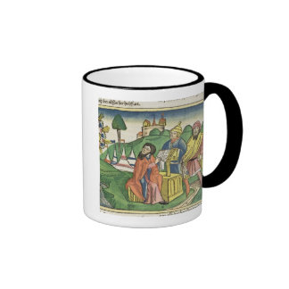 Deuteronomy: Frontispiece in which God makes the L Ringer Mug