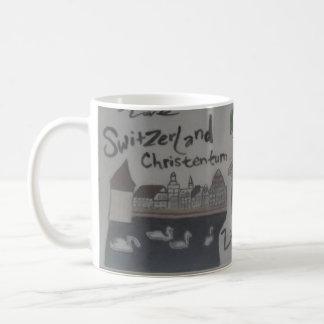 Deutsch/christlich taza-Liechtenstein/Suiza Taza Clásica