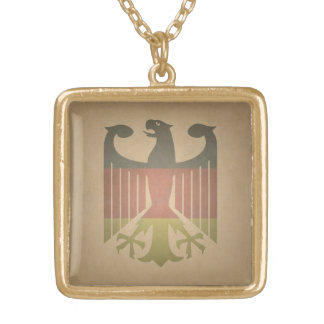 Deutsch-Eagle Gold Plated Necklace