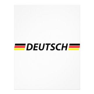 deutsch farben el icono flyer personalizado
