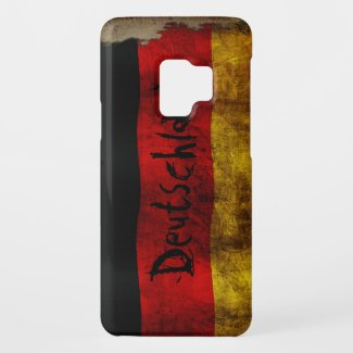 Deutsch Flagge - Vintage... Case-Mate Samsung Galaxy S9 Case