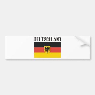 Deutsch German Products & Designs! Bumper Sticker
