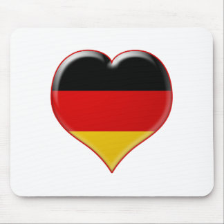 Deutsch-Herz-Charme Alfombrilla De Raton