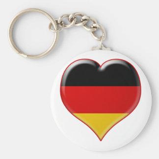 Deutsch-Herz-Charme Llavero