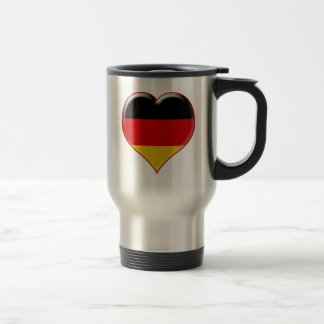 Deutsch-Herz-Charme Taza De Viaje