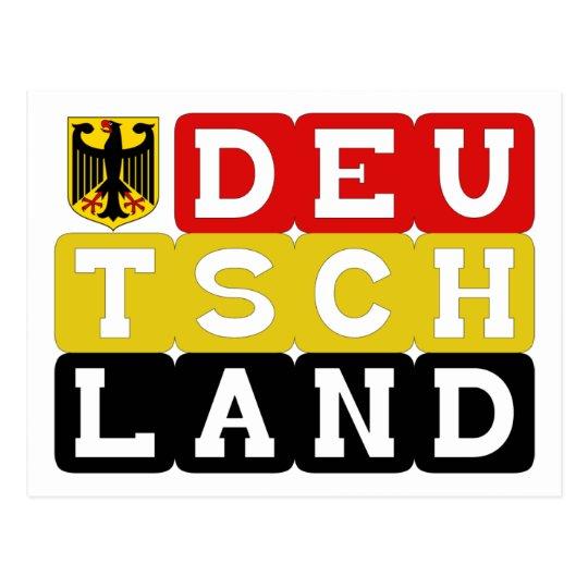 Deutschand Original designs! Postcard
