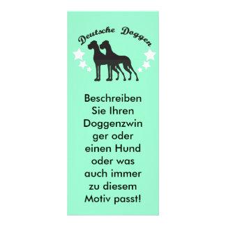 Deutsche Doggen Rack Card