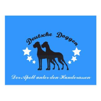 Deutsche Doggen Tarjetas Postales