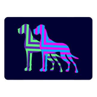 Deutsche Doggen Visitenkarten Business Cards