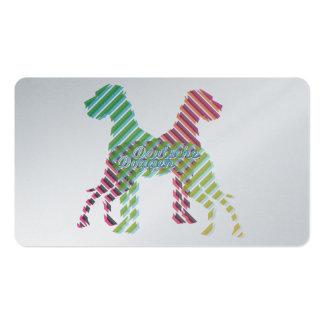 Deutsche Doggen Visitenkarten Business Card Template