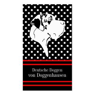 Deutsche Doggen Visitenkarten Business Card