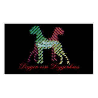 Deutsche Doggen Visitenkarten Business Card Templates