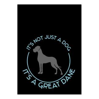 Deutsche Doggen Visitenkarten Tarjetas De Visita Grandes