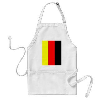 deutsche fahne adult apron