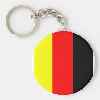 deutsche fahne basic round button keychain