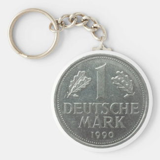 Deutsche Mark coin Keychain