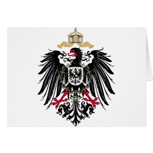 Deutscher Reichsadler Grußkarten