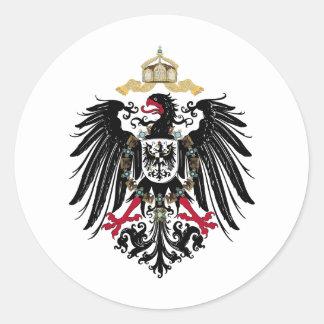 Deutscher Reichsadler Runde Sticker