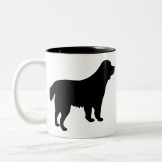 Deutscher Wachtelhund Two-Tone Coffee Mug