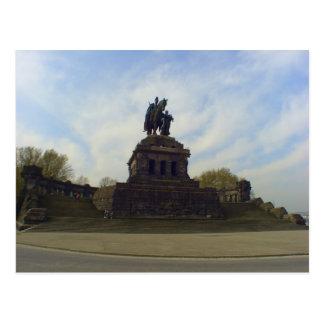 Deutsches Eck, Koblenz, Germany Postcard