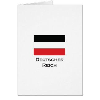 deutsches reich ai greeting card