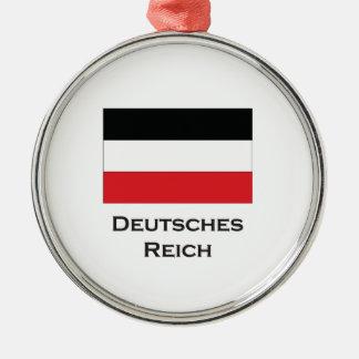 deutsches reich.ai metal ornament