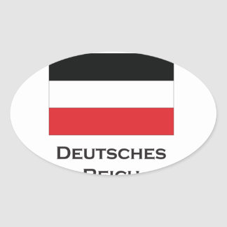 deutsches reich.ai oval sticker