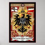 Deutsches Reich ~ Vintage German WW1 Poster