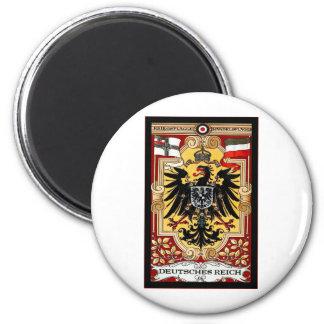 Deutsches Reich ~ Vintage German WW1 Poster 2 Inch Round Magnet