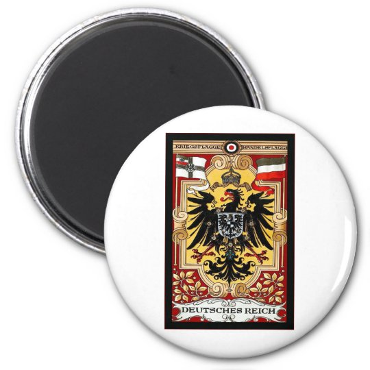 Deutsches Reich ~ Vintage German WW1 Poster Magnet