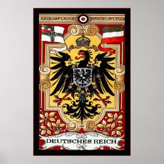 Deutsches Reich ~ Vintage German WW1 Posters