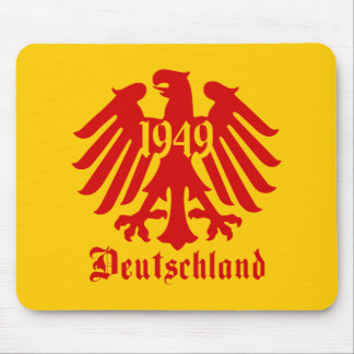Deutschland 1949 German Eagle Emblem Mouse Pad