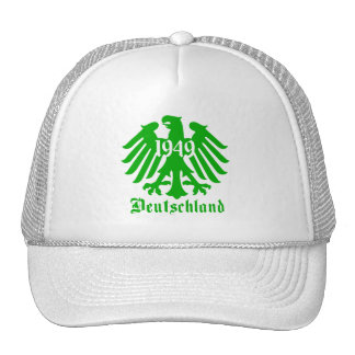 Deutschland 1949 Germany Eagle Symbol Mesh Hat