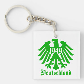 Deutschland 1949 Germany Eagle Symbol Key Ring
