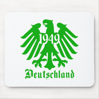 Deutschland 1949 Germany Eagle Symbol Mousepad