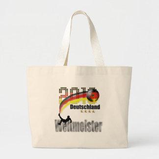 Deutschland 2014 weltmeister canvas bags