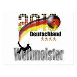 Deutschland 2014 weltmeister post cards