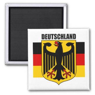 Deutschland 2 imán cuadrado