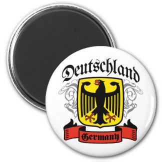 Deutschland 2 Inch Round Magnet