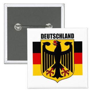 Deutschland 2 pin cuadrado