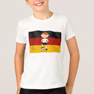 Deutschland Alemania Fußball Mädchen 3 Playeras